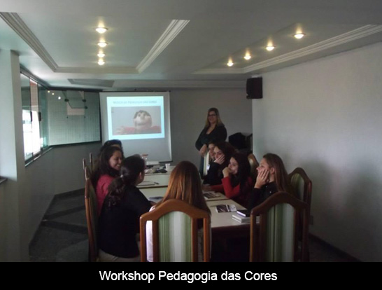Workshop Pedagogia das Cores
